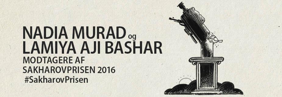 2016 Sakharov Prize laureates Nadia Murad and Lamiya Aji Bashar